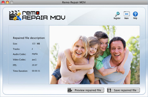 How to Repair Damaged MP4 Video on Mac? - Preview repaired File